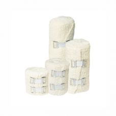 Crepe Bandage - 50mm x 4.5m with 2 metal clips