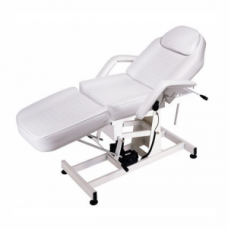 Electric Treatment Bed - White (183 x 75 x 68/90) '1 Motor'