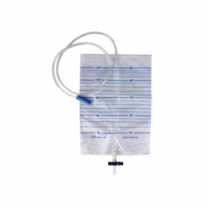 Urine bag - 2 litre with tap and cross valve