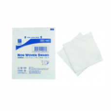 Non - Woven Gauze Swabs (sterile) - 75mm x 75mm x 4 ply